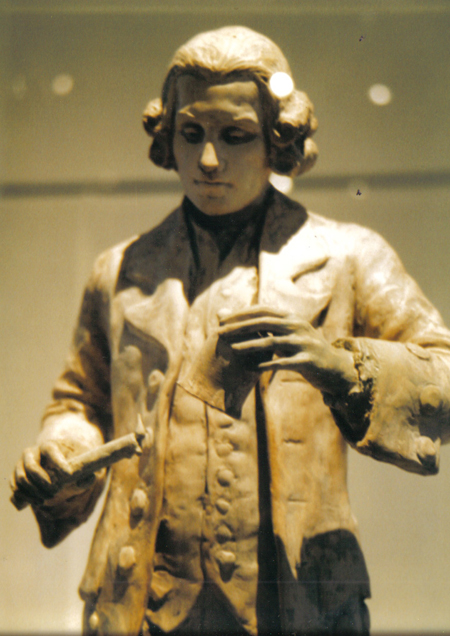 Priestely Maquette exhibited 2003