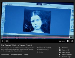 The image the BBC presented as Lorina Liddell.