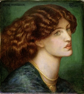 Bruna Brunelleschi by Rossetti 1878